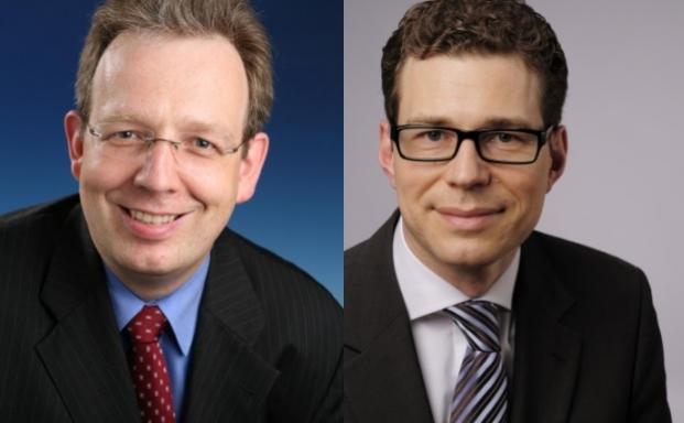 Jörg Plesse und Stefan Fritz