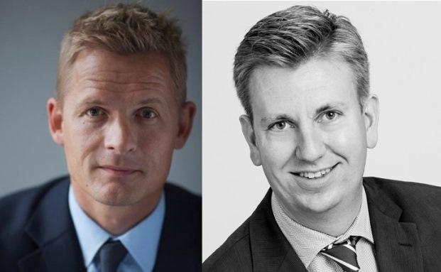 Thorben Sander (re.) und Kim Osbord Nielsen