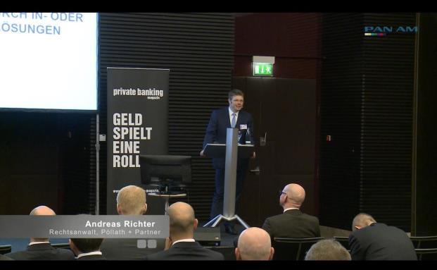 Andreas Richter, Pöllath + Partner