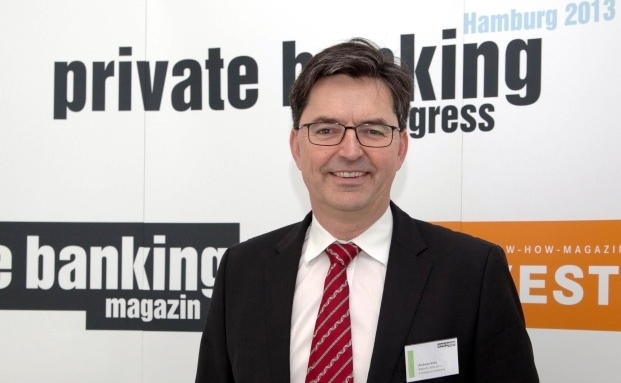 Andreas Kitta von Albrecht, Kitta & Co. auf dem private banking kongress in Hamburg 2013