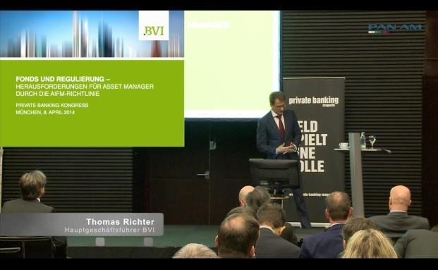 Thomas Richter, Hauptgeschäftsführer BVI