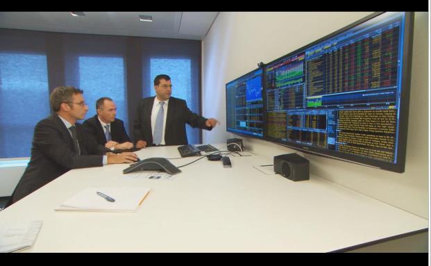 Fondsmanager Karl Huber, Herbert Ruf und Thomas Radinger, Pioneer Investments