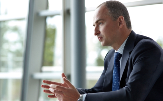 Dimitry Solomakhin managt den Aktienfonds Fidelity Fast Global
