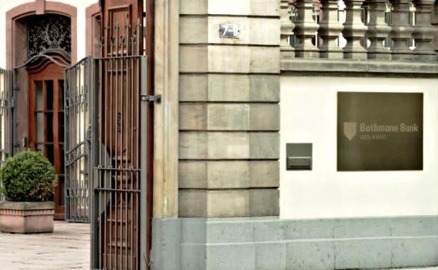 Frankfurter Niederlassung der Bethmann Bank in der Bethmannstraße 7-9