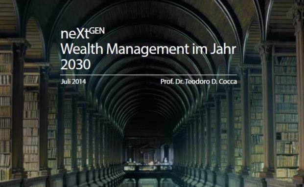 Cover der NextGen-Studie  | © Global Financial Institute / DeAWM