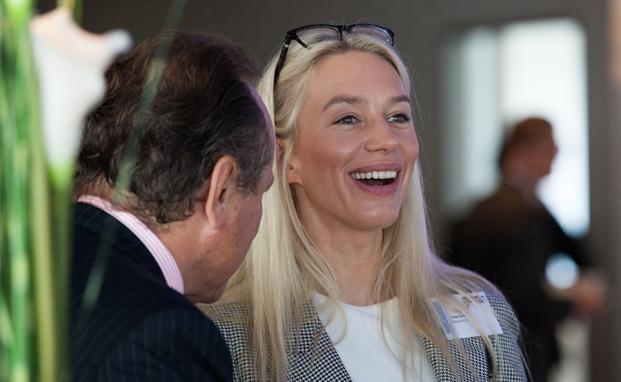 Beim private banking kongress 2014 in Hamburg gab es zahlreiche Vorträge und regen Austausch.