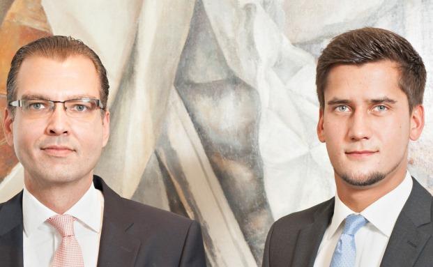 Zwei aus dem Team von Honestas Finanzmanagement: Stefan Kirchner (links), Geschäftsführer, und Torben Leitner, Leiter Fondsvertrieb.
