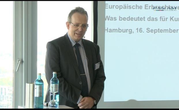 Jörg Plesse, Erb- und Stiftungsexperte