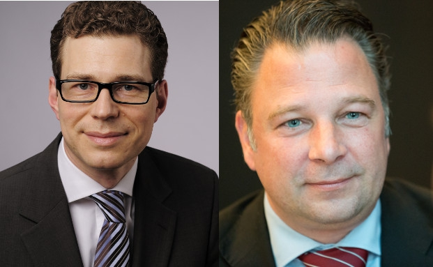 Stefan Fritz, Leiter des Stiftungsmanagement der Hypovereinsbank/Unicredit Bank in München (links), und Jörg Seifart, Gründer und Geschäftsführer der Gesellschaft für das Stiftungswesen mit Sitz in Düsseldorf.