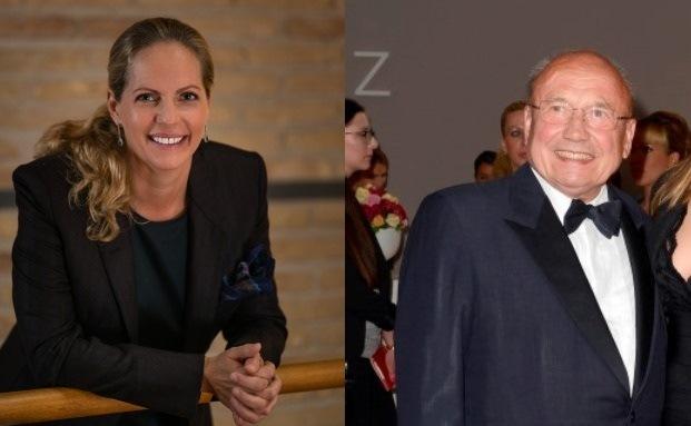 Baronin Ariane de Rothschild und Friedrich von Metzler