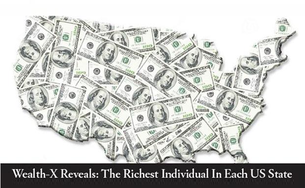 Wer ist der reichste Amerikaner von New York, Kalifornien oder Florida? |© Wealth-X