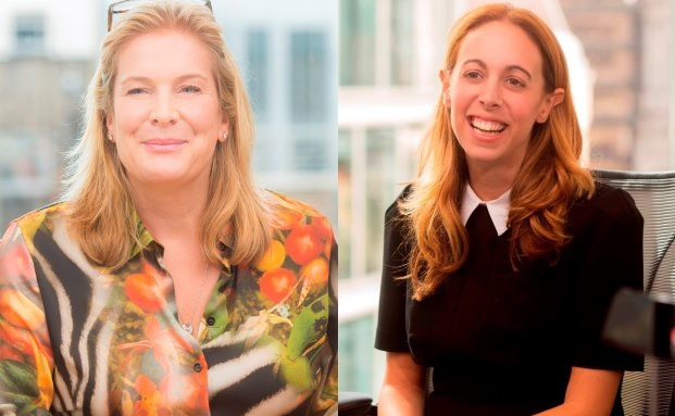 Sarah Aitken (links) und Honor Solomon sind neue Chefinnen bei LGIM|© LGIM