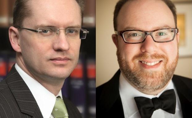 Marc Schiefer von der TILP Rechtsanwaltsgesellschaft (li.) und Noah Wortman von der Goal Group of Companies