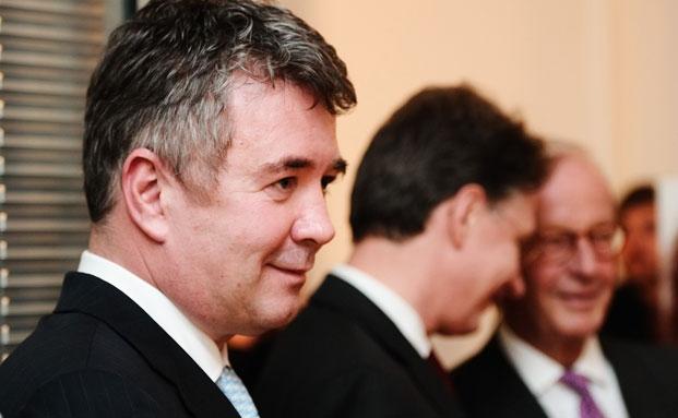 Jens Spudy, hier noch auf der Eröffnungsfeier der neuen Spudy & Co.-Niederlassung in München im Jahr 2012