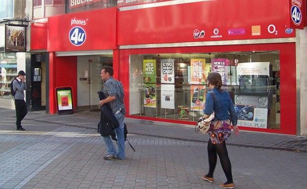 Die Insolvenz des britischen Mobilfunkanbieters Phones4u hat einige Anleihe-Investoren verschreckt|© Foto: Mtaylor848/Wikimedia