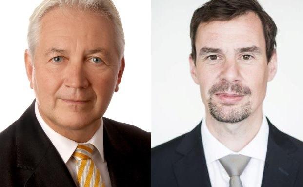 Die beiden Neuen: Jürgen Raeke (links) und Michael Gollits