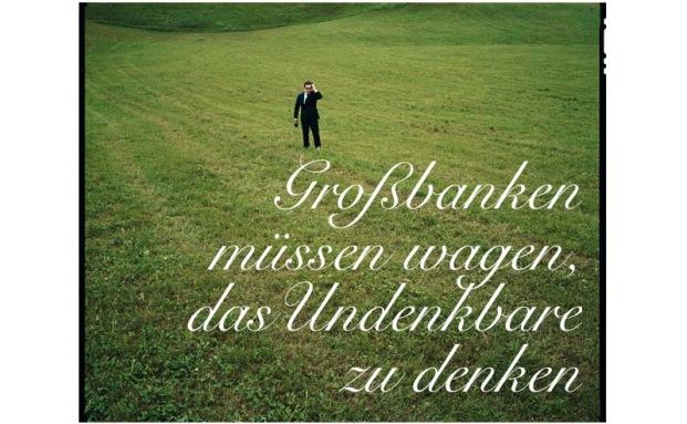 Großbanken müssen laut Spiros Margaris wagen, das Undenkbare zu denken.|© Spiros Margaris