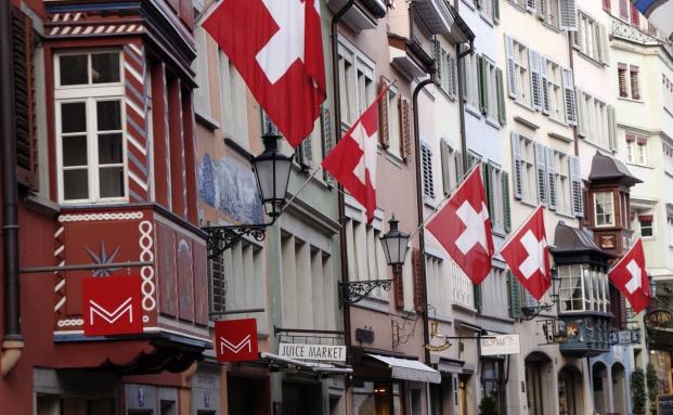 Schweizer Fahnenmeer in Zürich: Welche Folgen hat der Fall Hügli für das Deutsch-Schweizer Verhältnis?|© Fotolia