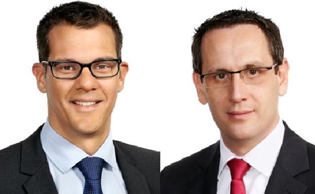 Bernd Gralß (links) und Ronald Buge rücken bei der Kanzlei P+P Pöllath + Partners in den Partnerkreis auf
