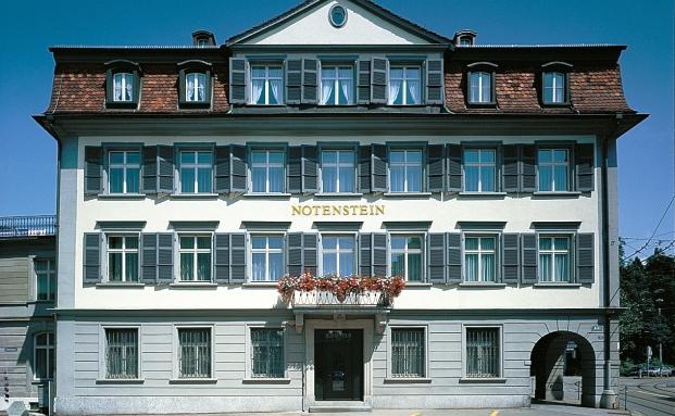 Bald Teil des Bankhauses Vontobel?: Niederlassung der Privatbank Notenstein in St. Gallen