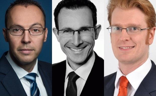 Zwei Neueinstellungen, ein Beförderter (v.l.n.r.): Thomas Adler, Jens Heß, Thorsten Kahl