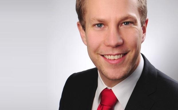 Geht zur V-Bank in den Vertrieb: Marc Gasteiger