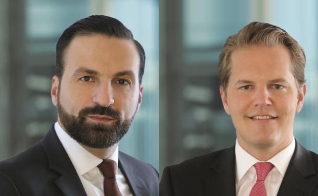 Hamed Mustafa (links) und David Wenicker sind Führungskräfe bei iShares