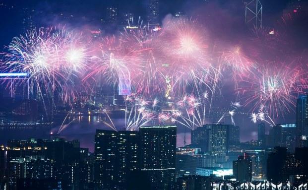 Neujahrsfeier in Hong Kong: Die Branche erwartet in diesem Jahr einen guten bis sehr guten Umsatz mit Aktienfonds mit Schwerpunkt Schwellenländer. (Foto: Lam Yik Fei/Getty Images)