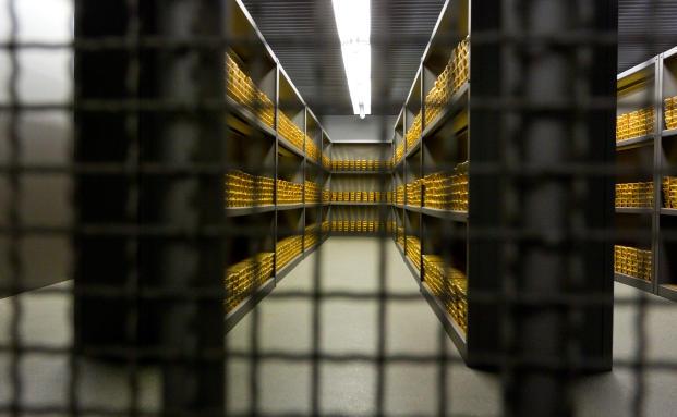 So lagert das Gold der Deutschen: Tresorraum der Bundesbank