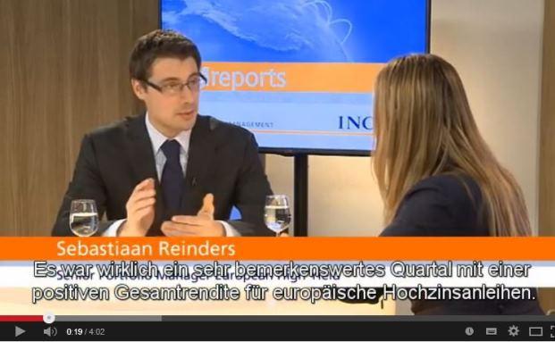 NN (ehemals ING) European High Yield (09.03.2015): NNIP-Portfoliomanager Sebastiaan Reinders über die Chancen europäischer High Yields