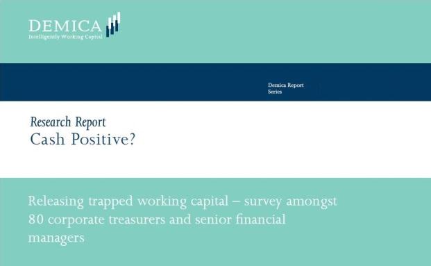 Fast 80 Treasurer von Unternehmen befragte das Beratungshaus Demica für seine 2015er Studie