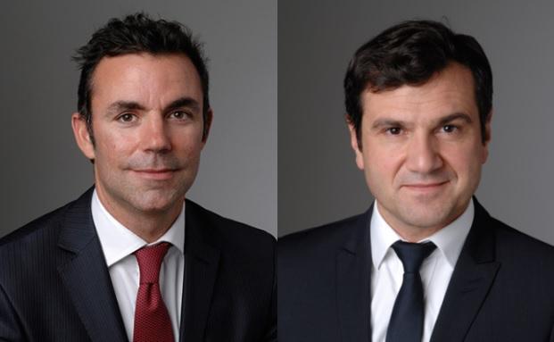 Guilhem Savry (links) und Jérôme Teiletche von Unigestion