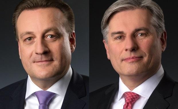 Nachdem Gerhard Baumeister (rechts) Merck Finck & Co. verlässt, übernimmt seine Leitungsposition in Stuttgart Rainer Wörz