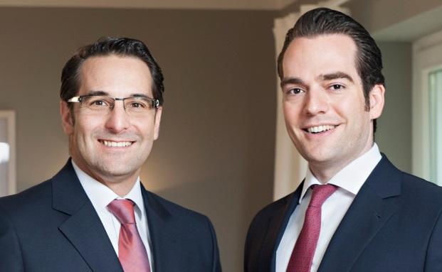 Verlassen das Spudy & Co. um ein eigenes Family Office aufzubauen: Philipp Lennertz (rechts) und Oliver Piworus
