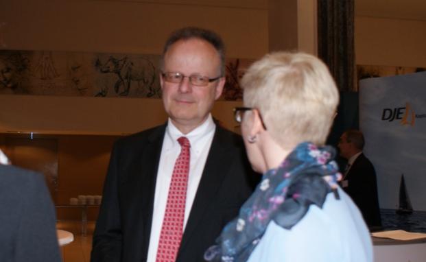 Hartmut Webersinke, Leiter des Instituts für Vermögensverwaltung (InVV)