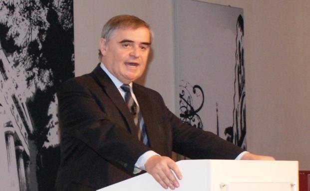 Stargast: Verfassungsrichter Peter Müller spricht über die Geldwertstabilität, die Eurokrise und das Verfassungsrecht