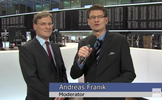 Interview mit KSW-Vorstand Wolfgang Köbler auf dem Frankfurter Börsenparkett
