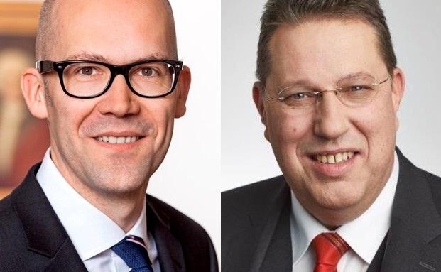Stiftungsexperten Klaus Naeve (links) und Ulrich Burgard
