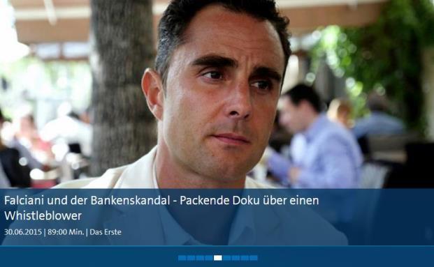 Die ARD hat einen Dokumentarstreifen über Hervé Falciani, den Whistleblower des HSBC-Skandals, gefilmt|© ARD