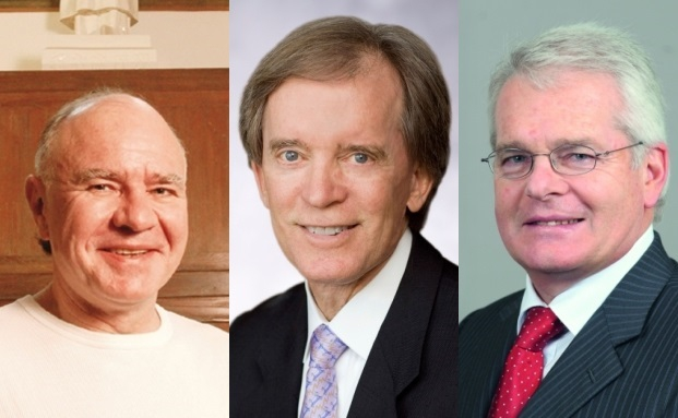 Drei Investmentgurus (von links): Marc Faber, Bill Gross, Felix Zulauf