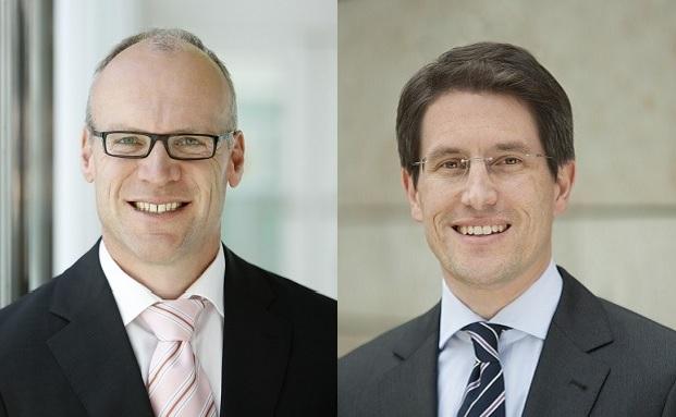 Reinhard Berben, Geschäftsführer von Franklin Templeton in Deutschland und Matthias Hoppe, Lead-Portfoliomanager bei Franklin Templeton|© Franklin Templeton
