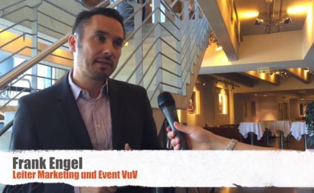 Auch im Image-Film zu sehen: ein Kurzinterview mit Frank Engel vom VuV