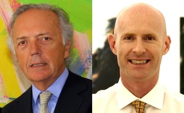 Zwei der von der FAZ vorgeschlagenen Fondsmanager: Edouard Carmignac (Links) und Luca Pesarini
