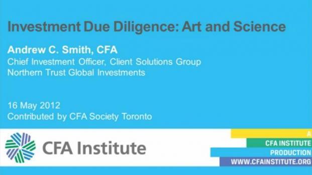 Andrew C. Smith von Northern Trust erklärt im Video den Due-Diligence-Prozess bei Investments