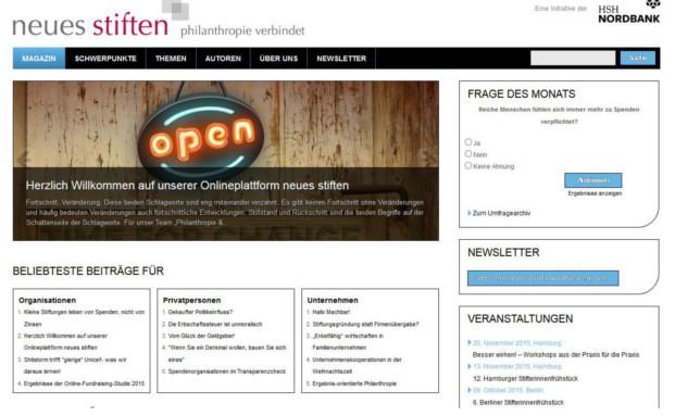 Die neue Webseite für gesellschaftliches Engagement von der HSH Nordbank
