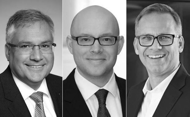 Fondsberater Bernd Früh, Carsten Garbers und Thomas Lange (v.l.)