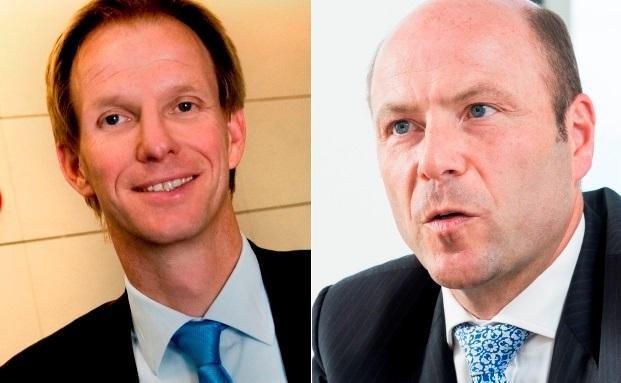 Andreas Przweloka (links) und Martin Deckert von der UBS Deutschland