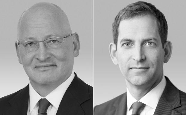 Zwei aus der Geschäftsleitung der neugegründeten HQ Capital: Ernest Boles (links) und Georg Wunderlin