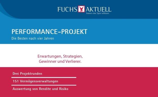 Die Performance-Projekte I und II vom Fuchsbriefe Verlag gehen ins letzte Jahr. Der Zwischenstand|© Fuchsbriefe Verlag