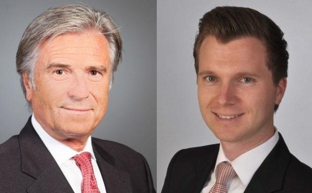 Wolfgang (rechts) und Thilo Stadler bestimmen die Strategie der I.C.M. Vermögensverwaltung in Mannheim